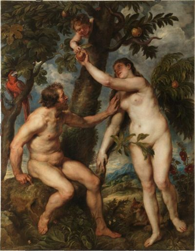 Rubens : Adam a Eva