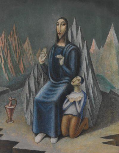 Jan Zrzavý Kázání na hoře