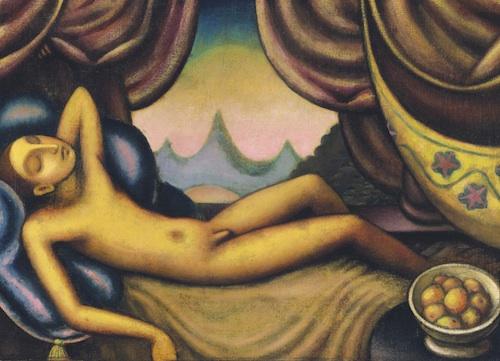 Jan Zrzavý : Spící chlapec